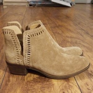 Lucky Brand Suede Ankle Booties